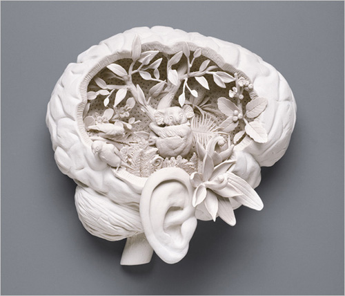 Artwork by Kate MacDowell; photograph by Dan Kvitka for The New York Times