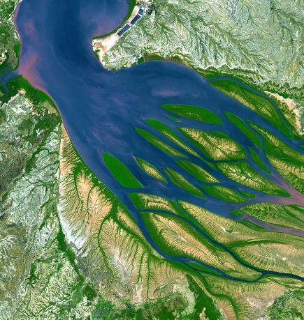 NASA Earth Observatory photo — Bombetoka Bay, Madagascar